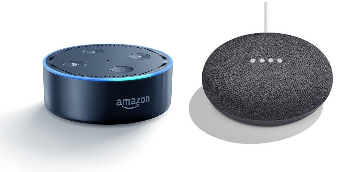 Photo of Google Home Mini vs Amazon Echo Dot