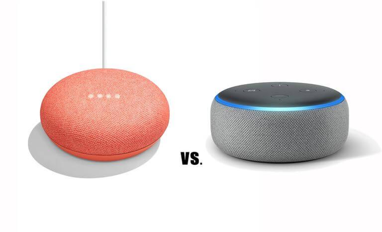 Photo of Google Home Mini vs Amazon Echo Dot en Español